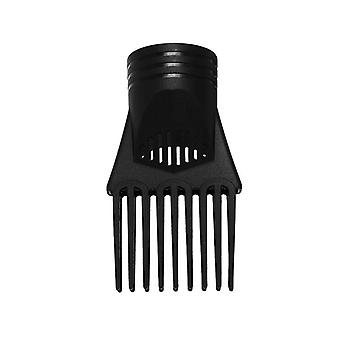 Pro Salon Hair Straight Comb Torktumlare Munstycke Diffusor - Wind Blower Frisör
