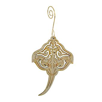 Sting Ray Pattern Ornament