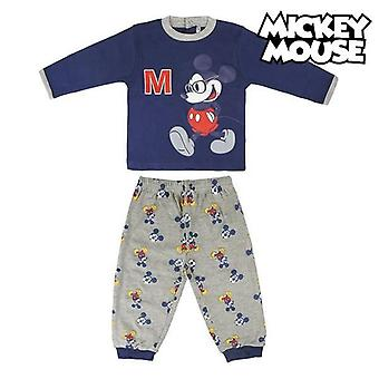 Children's pyjama mickey mouse navy blue