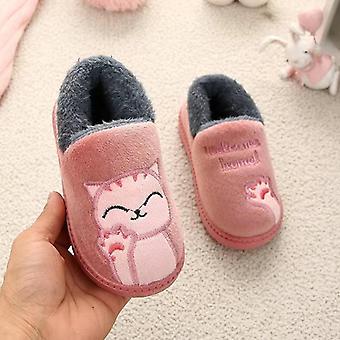 Winter  Indoor Cotton Baby Warm Smiley Shoes