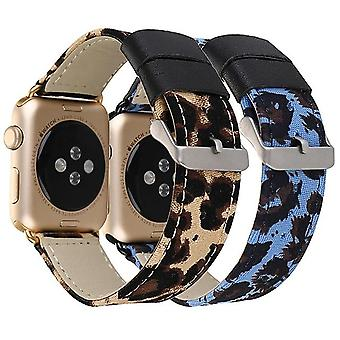 Leopard Smartwatch Band For Apple Watch Series 6/5/4/3 Iwatch Strap