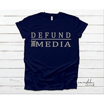 Defund Die Medien Unisex T-shirts