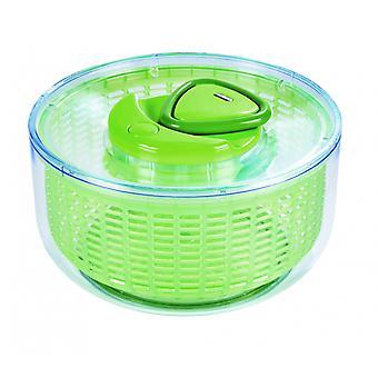 salatschleuder 22 cm polystyrene green/transparent