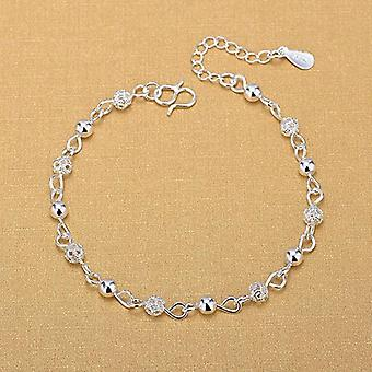 Hollow Beads Anklet