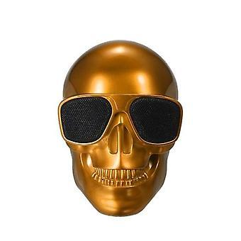 Plastic Skeleton Metallic Wireless Shape BT Speaker