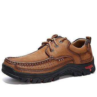 Luxury Style Large Size Men Top Leather Shoes