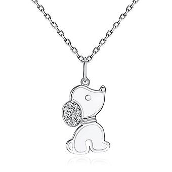 Sterling 925 Puppy Beagle Gifts For Dog lovers Silver Necklace Dog - Gemshadow