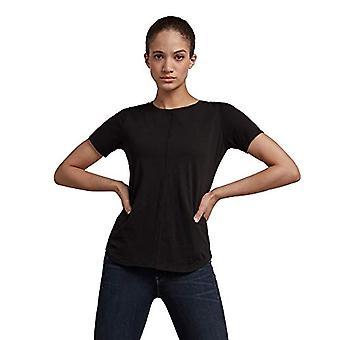 G-STAR RAW Justerbar Rygg Smal T-Shirt, Dk Svart 4107-6484, M Kvinna