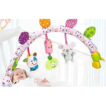 Baby musical mobile plush rattle toys for bed/crib/stroller etc.