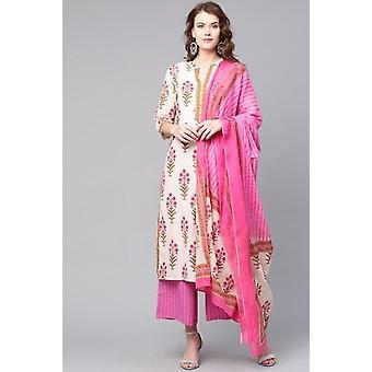 Intialainen mekko Pitkä Kurti