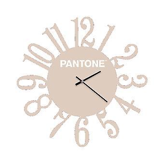 PANTONE Montre Loop Couleur Sable, Blanc, en Métal L40xP0,15xA40 cm