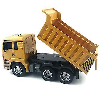 HUINA 1:18 6 Canal 2.4G RC Caminhão de lixo