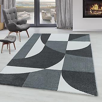 Tappeto del soggiorno POWER Short Pile Soft Flor Design Zipcode Pattern Abstract