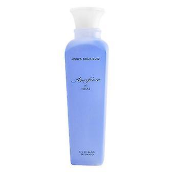 Shower Gel Agua Fresca de Rosas Adolfo Dominguez (500 ml)