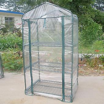 حديقة البيت الأخضر الدافئ الدفيئة في الهواء الطلق نباتات الزهور أدوات البستنة