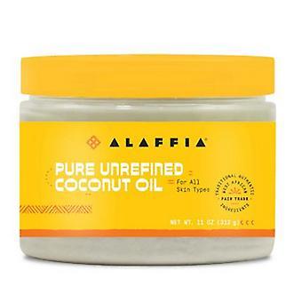 Alaffia Coconut Oil for Hair & Skin, 11 Oz