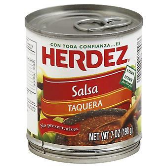 Herdez Salsa Taquera, Case of 12 X 7 Oz