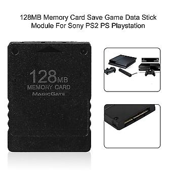 128mb Memory Card Save Game Data Stick Module For Sony For Ps2 Ps Playstation
