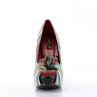 Pin Women's Shoes Up Serape Print Fabric