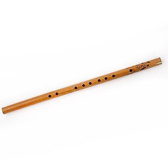 Flûte de bambou d'eau débutant flûte chinoise traditionnelle F Clé Bamboo Dizi Instrument de musique