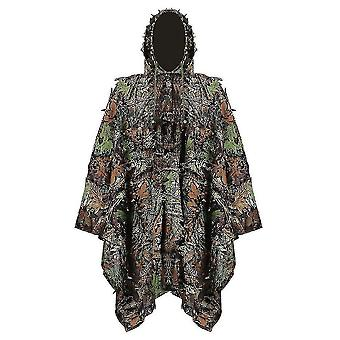 Jacht geheimzinnige Woodland Ghillie Pak Lucht schieten Sniper Groene Kleding Volwassenen Camouflage