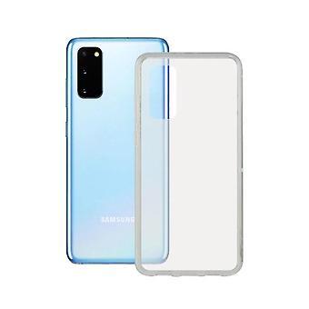 Mobiilikotelo Samsung Galaxy S20 Ota yhteyttä TPU Läpinäkyvä