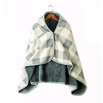 Moisture-absorbing Heat-preserving Warm Blanket Lazy Buckle(S4)