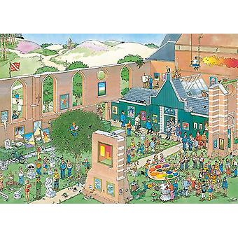 Jan van Haasteren The Art Market Jigsaw Puzzle (1000 Pieces)