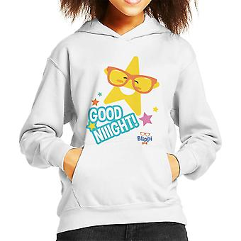 Blippi Good Night Stars Kid's Hooded Sweatshirt