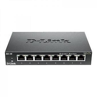 Switch 8 Puertos Gigabit Dgs108