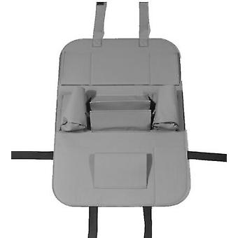 Pu leather car seat back organizer backseat storage box