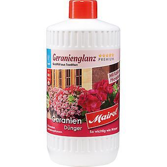 MAIROL Geranium Fertilizer Liquid, 1 liter, geranium gloss