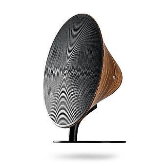 Bluetooth Speaker Remax RB-M23 Woodgrain Wireless Audio Smart Touch Subwoofer Player Black