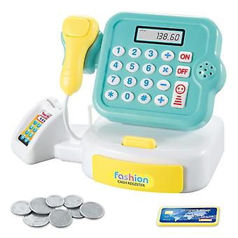 Cash Register Calculator Toy Scanner