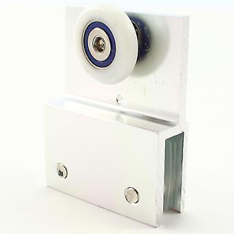 26mm Metal Bracket Single Wheel Hanging Roller