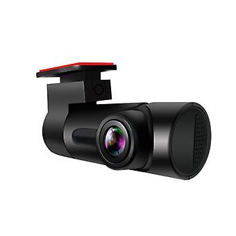 كامل HD 1080P واي فاي الكاميرا، 170 ° زاوية واسعة دون شاشة القيادة مسجل (أسود)