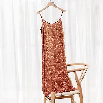 Sommer - Satin Weiches & glattes langes Kleid