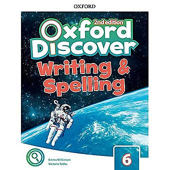 Oxford Discover: Level 6: Writing & Spelling Book
