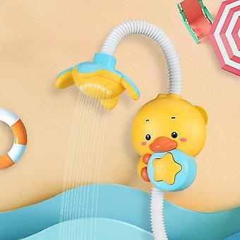 Badespielzeug für Kinder elektrische Ente Eule Tier Sucker