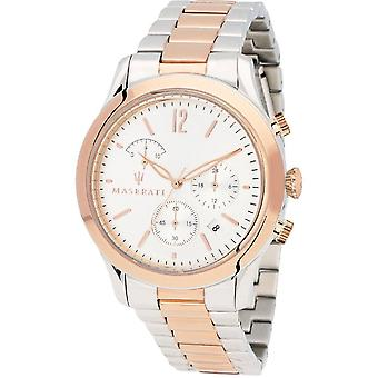Maserati Tradizione Chronograph Silver Dial Men's Watch R8873625001