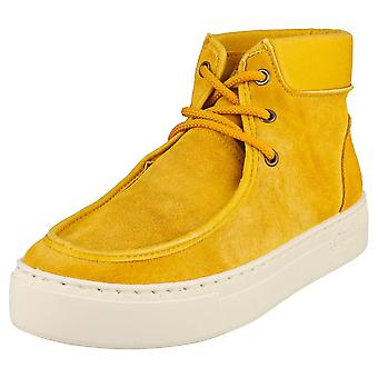 Natural World Lice Womens Chukka Boots in Curry