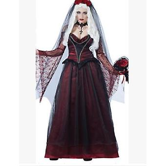 Halloween Ghost Festival Playing Demon Ghost Bride Costume