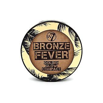 W7 Bronze fièvre Golden Glow compact