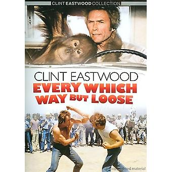 Clint Eastwood - Every Which Way But Loose [DVD] USA import