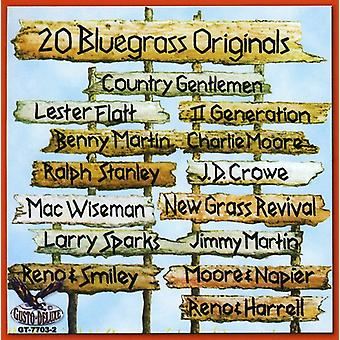 20 Bluegrass Originals - 20 Bluegrass originalen [CD] USA import