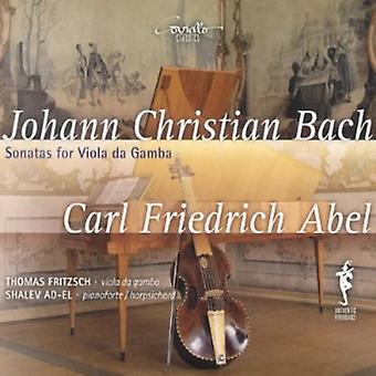 Bach, J.C./Abel - Johann Christian Bach, Carl Friedrich Abel: Sonatas for Viola Da Gamba [CD] USA import