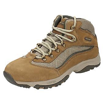 Ladies Hi-Tec Casual snøre støvlene klippe Trail WP