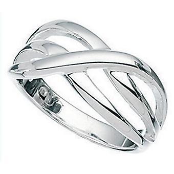 925 Silver Interlaced Ring
