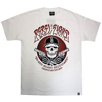 Rebel8 ieder middel mannen T-shirt wit
