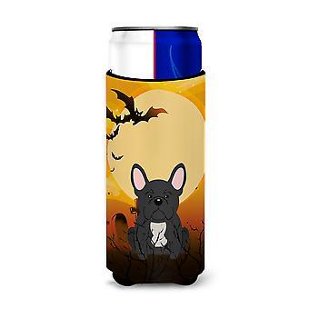 Halloween French Bulldog Black Michelob Ultra Hugger for slim cans